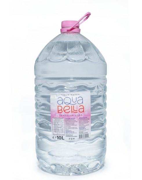 Трапезна вода Аква бела 10л