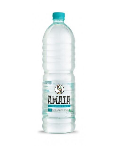Вода Аматеа 1,5л Трапезна вода