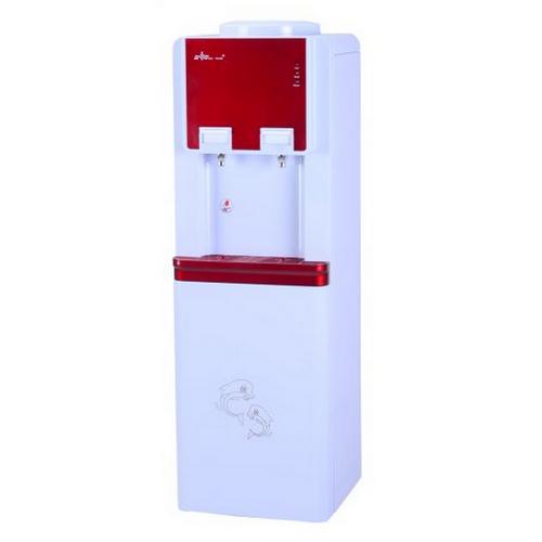 Диспенсър за вода W-29 електронно охлаждане Червен