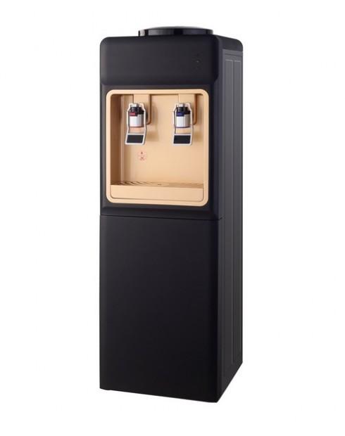 Диспенсър за вода W-34 Електронно охлаждане Черно и Златно