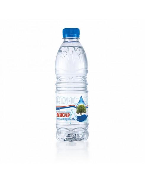 Минерална вода Хисар 0,330л Милениум