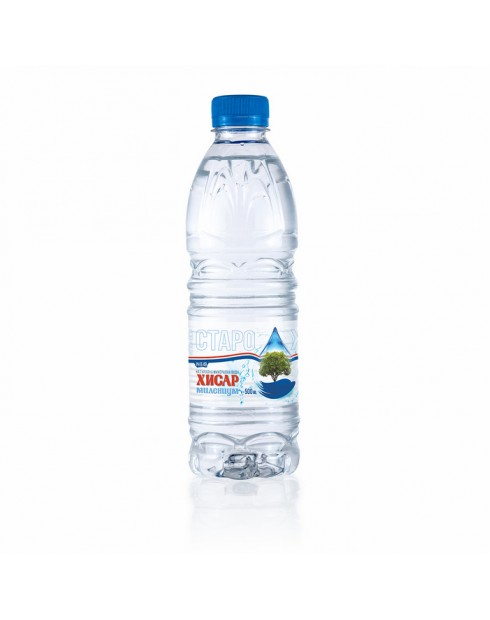Минерална вода Хисар 0,5л Милениум
