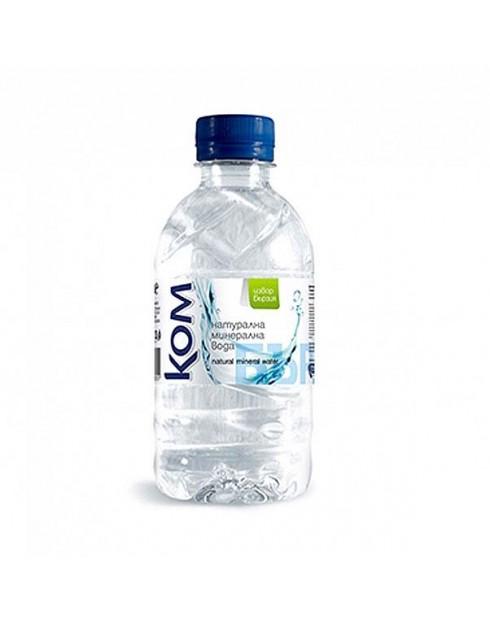 Вода Ком 0.330л Натурална минерална вода