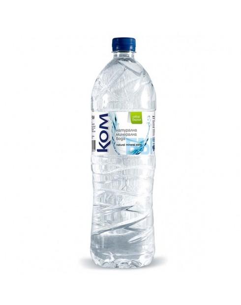 Вода Ком 1.5л Натурална минерална вода